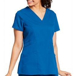 Grey's Anatomy Womens Solid Scrub Top