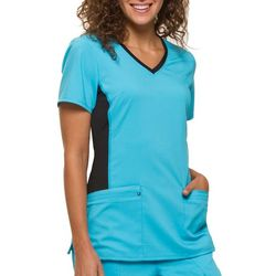 HEALING HANDS Womens Yoga Juliet  Scrub Top