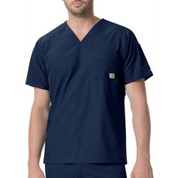 Carhartt Mens Liberty Slim Fit Back Vent V-Neck Scrub Top