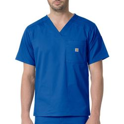 Carhartt Mens Rugged Flex Vented V-Neck Scrub Top
