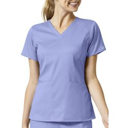 WonderWink Womens 4 Pocket V-Neck Scrub Top