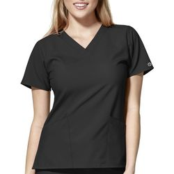 WonderWink Womens V-Neck Scrub Top W123