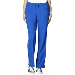 WonderWink Womens Drawstring Scrub Pants W123