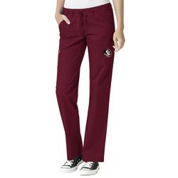 WonderWink Womens Florida State Cargo Scrub Pants