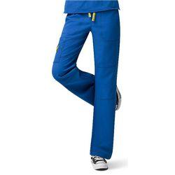 Womens 4-Stretch Sporty Cargo Scrub Pants