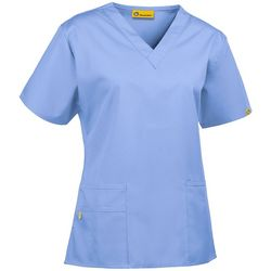 WonderWink Womens V-Neck Bravo Scrub Top