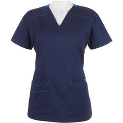 WonderWink Womens Wonderflex Verity Scrub Top