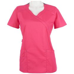 WonderWink Womens WonderFlex Charity Scrub Top