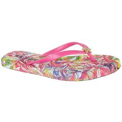 Reel Legends Womens Star Flip Flops