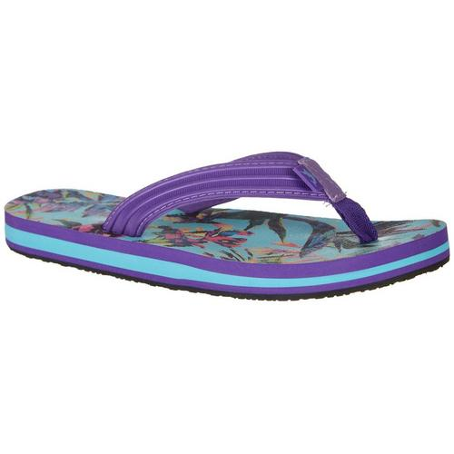2483427bb Reel Legends Womens Tropical Breeze Flip Flops