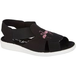 Coral Bay Womens Maggie Flamingo Casual Sandals