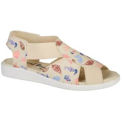 Coral Bay Womens Maggie Seahorse Sandals