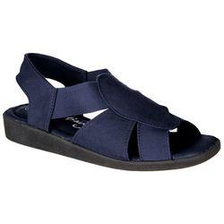 675db13fd6a49 Coral Bay Womens Maggie Memory Foam Sandals