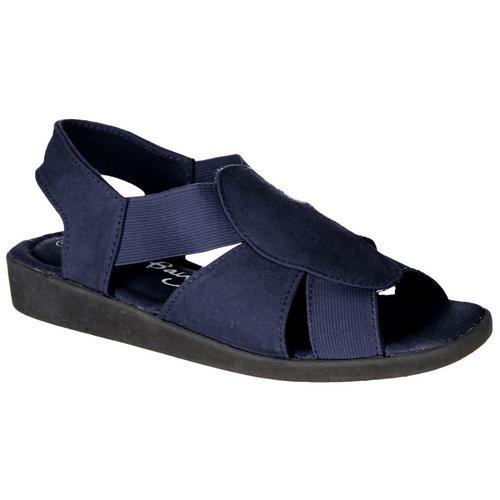 7a7be9b86ecc Coral Bay Womens Maggie Memory Foam Sandals