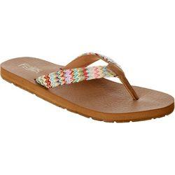 Flojos Womens Juno Weave Flip Flops