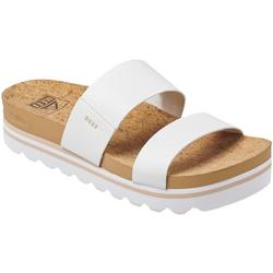 Womens Cushion Bounce Platform Vista Flip Flops