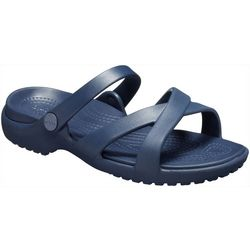 Crocs Womens Meleen Cross-Band Sandal