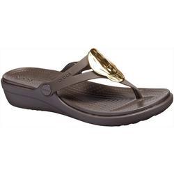 Womens Sanrah Wedge Sandals