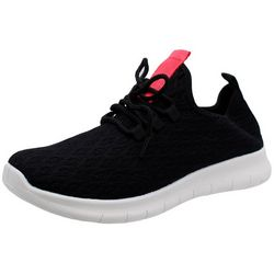 Womens Solid Shelly Sneaker