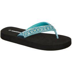 Unionbay Womens Campeche Flip Flops