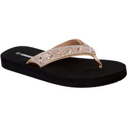 Union Bay Womens Rockford Flip Flops