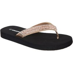 Union Bay Womens Charlie Flip Flops