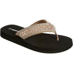 Unionbay Womens Cardoso Flip Flops