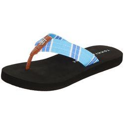 Tommy Hilfiger Womens Cravi Flip Flops
