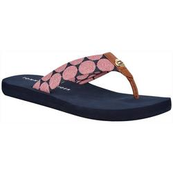 Womens Cemson Flip Flops