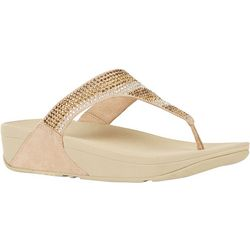 FitFlop Womens Strobe Luxe Thong Sandals