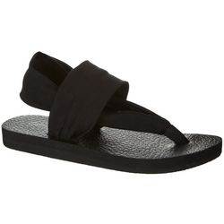 Coral Bay Energy Womens Malibu Black Sandals