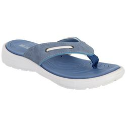 Reel Legends Womens Nautical Flip Flop