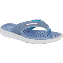 Reel Legends Womens Nautical Flip Flops