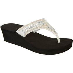 Coral Bay Womens Ilda Thong Sandals
