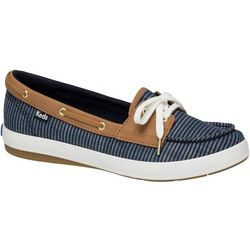 Keds Womens Charter Stripe Boat Shoes
