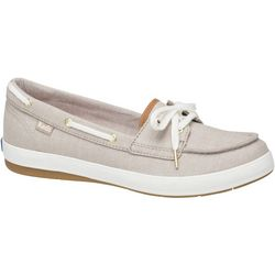 Keds Womans Charger Chambray Boat Shoes