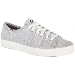 Keds Womens Kickstart White Denim Shoes