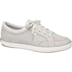Keds Womens Center Chambray Sneakers