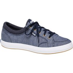 Womens Center Chambray Sneakers