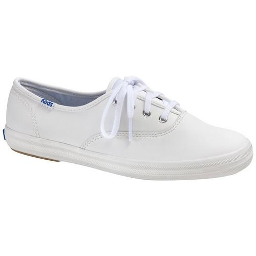 7495759c928 Keds Womens Champion Leather Sneakers