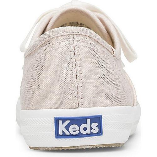 aaea48d523b8e Keds Womens Champion Metallic Linen Sneakers