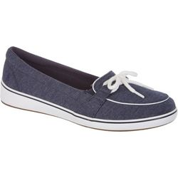Grasshoppers Womens Windham Knit Slip On Shoes