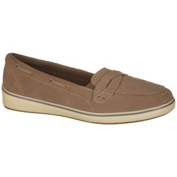 Grasshoppers Womens Windham Suede Shoes