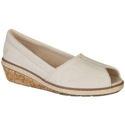Grasshoppers Womens Garnet Peep Toe Shoes