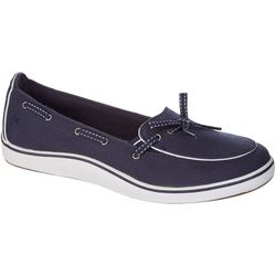 Grasshoppers Womens Windham Canvas Slip On Shoes