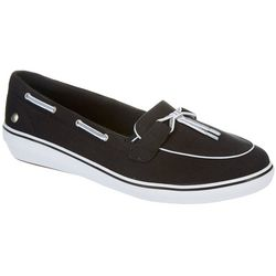 Grasshoppers Womens Windsor Lace Slip On Shoes