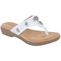 Rialto Womens Bailee Thong Sandals