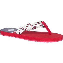 Sperry Womens Wharf Flip Flops
