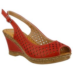 Patrizia by Spring Step Womens Candace Wedge Sandals