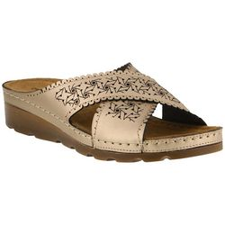 Flexus By Spring Step Womens Passat Slide Sandals